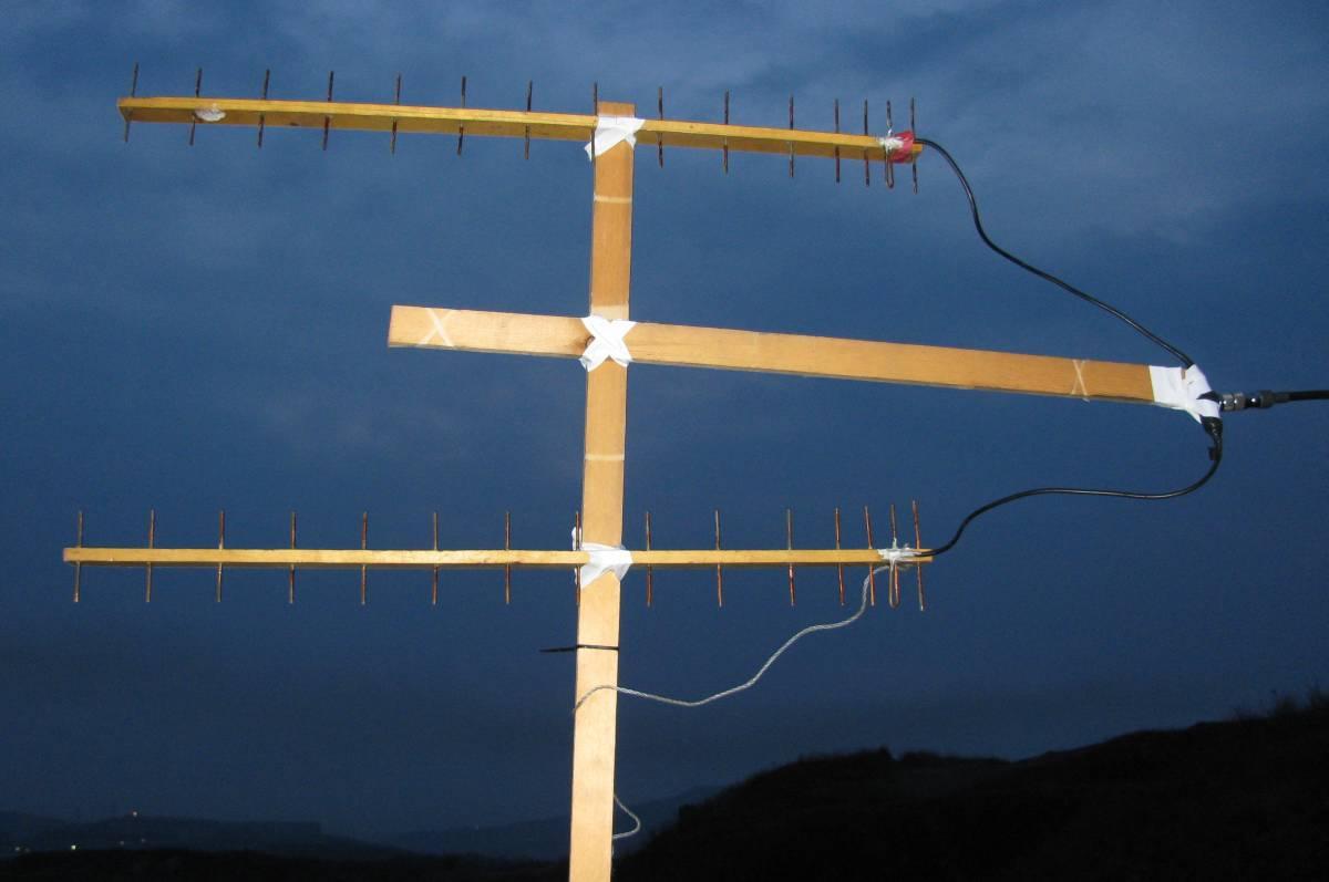 Антенна направленная с гамма-согласованием y3g-uhf-нм